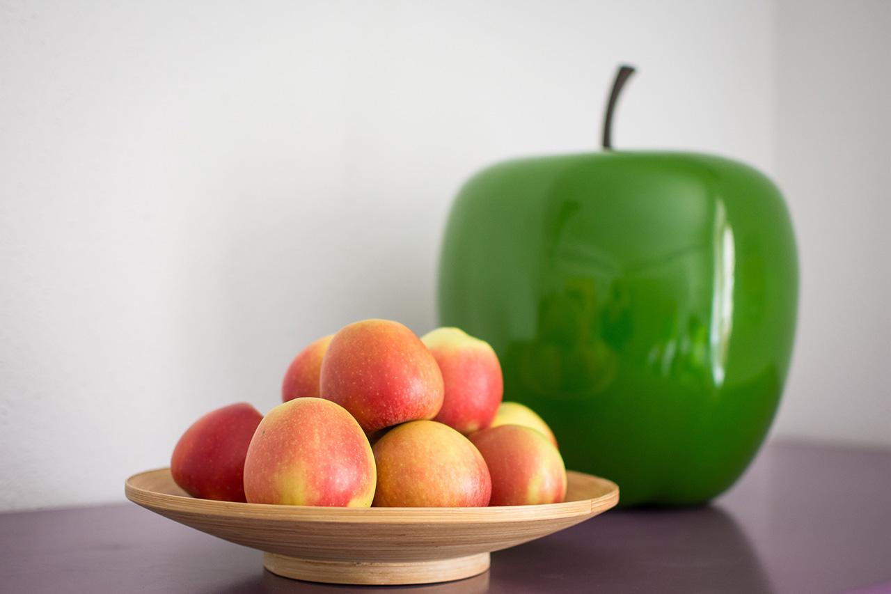 Detail-Äpfel